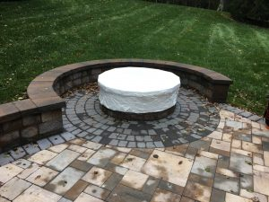 fire-pit-shrink-wrapping