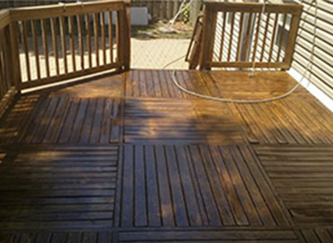 deck-washing